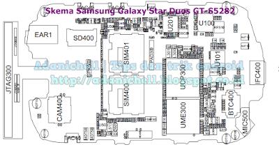 Skematik Samsung Galaxy Star Duos GT-S5282