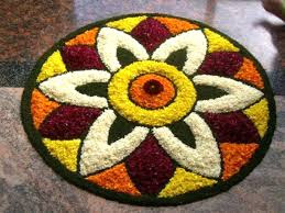 Flower Rangoli Pictures