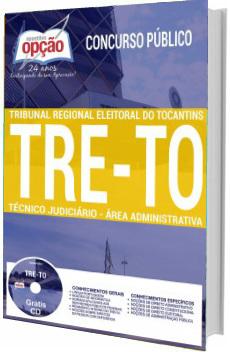 Apostila TRE-TO 2017 Técnico Judiciário - Área: Administrativa