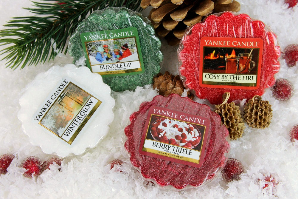 2015, baby it´s fun outside and cosy inside, Berry Trifle, bundle up, Cosy By The Fire, cosy inside, duftbeschreibung, dufttarts, review, tarts, weihnachten, winter, winter glow, yankee candle, yankee candles,