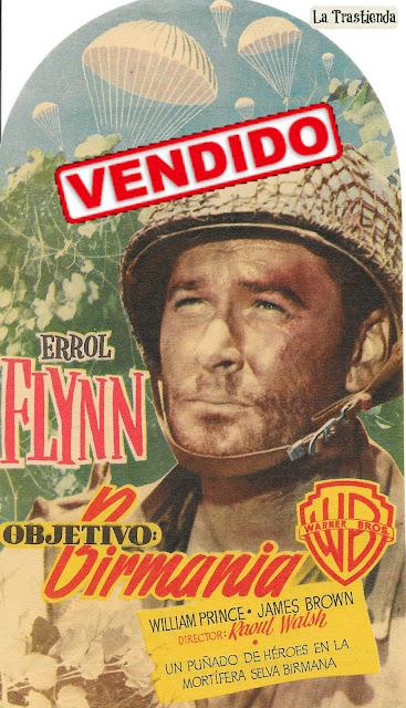 Objetivo Birmania - Programa de Cine - Errol Flynn