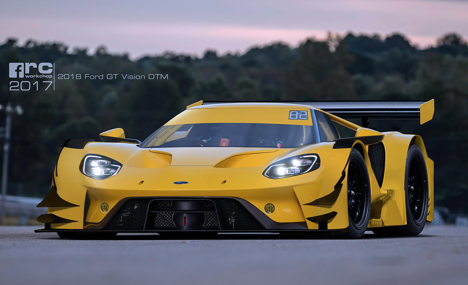 A Ford Gt For Dtm Racing We Approve Carscoops Com