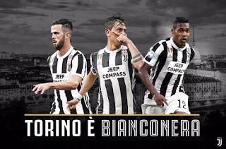 Juventus Hantam Torino 4-0