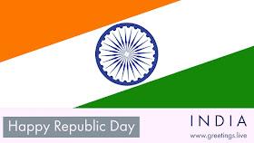 Happy Indian Republic Day festival celebration on 26 January 2018