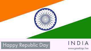 Happy Indian Republic Day festival celebration on 26 January 2018