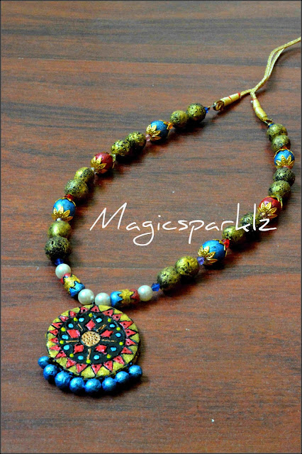 Teracotta necklace