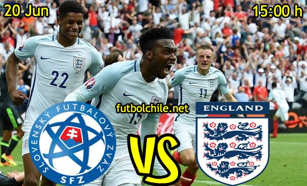 VER STREAM RESULTADO EN VIVO, ONLINE: Eslovaquia vs Inglaterra