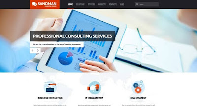 Sandman wordpress theme