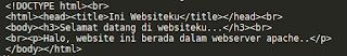 Membangun web server di ubuntu
