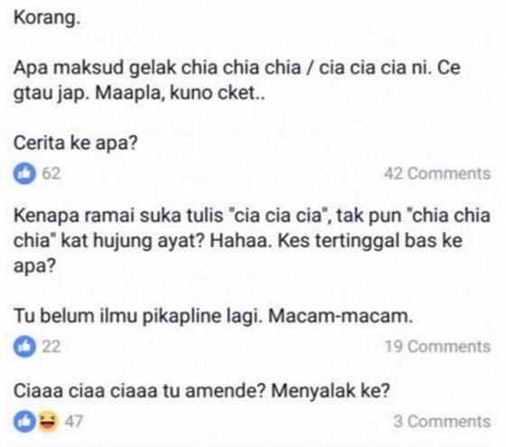 Maksud Sebenar 'Cia Cia Cia' yang Viral di Malaysia