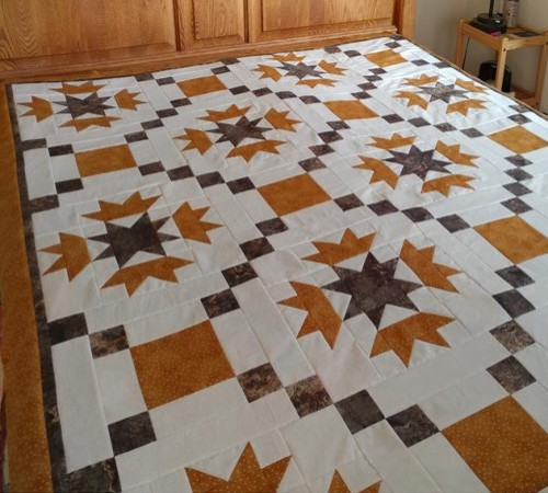 Thistle Collage Quilt - Free Pattern