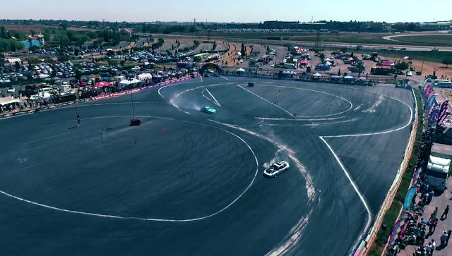 Mad Mike in South Africa Super Drift Series round 6 Conquer the Cape