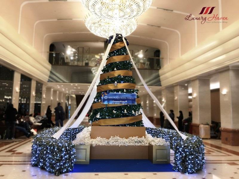 christmas at keio plaza hotel tokyo