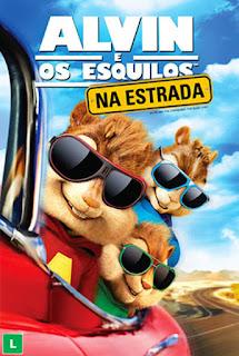 Alvin e Os Esquilos: Na Estrada - BDRip Dual Áudio