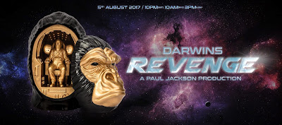 Darwin's Revenge Resin Figure by Paul Jackson x Mighty Jaxx