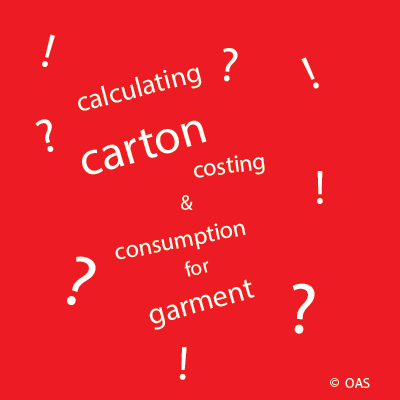 Carton consumption and costing calculation - Online Apparel