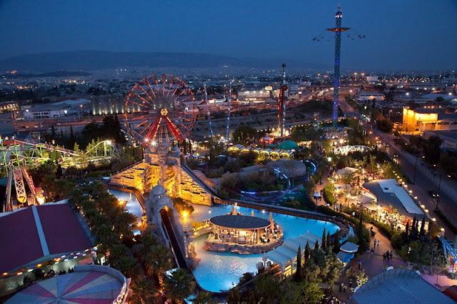 Parque de diversões Allou, Atenas