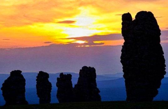 Fenomena Keindahan Alam yang Menakjubkan di ujung Utura Rusia