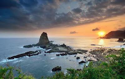 Pantai Papuma Jember Jawa Timur