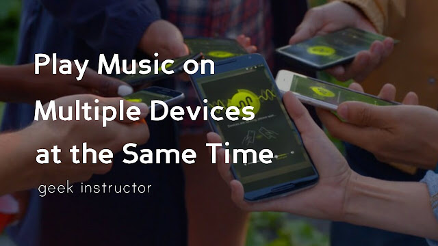 Play song on multiple devices
