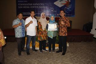 Kabupaten Indramayu Mendapat Penghargaan Pengelolaan Media Centre Terbaik Di Indonesia
