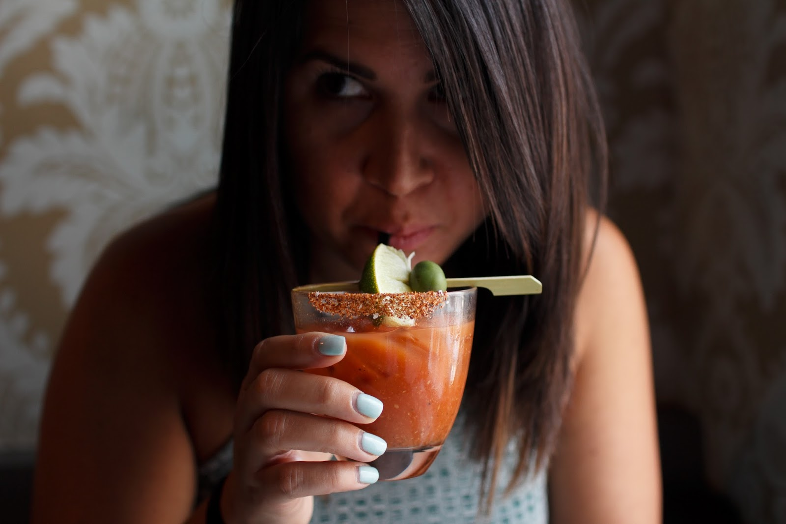 The-Fainting-Goat Brunch-Washington-DC | A.Viza Style | brunch-review-bloody-mary