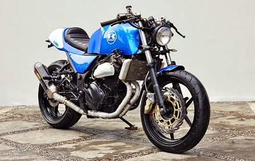 Modifikasi Motor Kawasaki Ninja 250