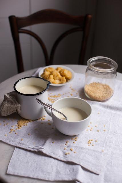 Ungarische Spezialität - Milch-Honigsüppchen