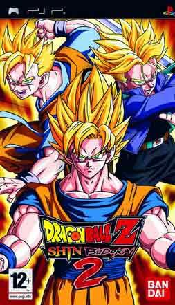 Dragon Ball Z Shin Budokai 2 (PSP) (ISO) Español (MEGA)