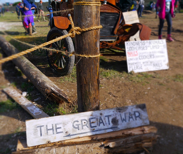Great Dorset Steam Fair WW1 Commemorative Display