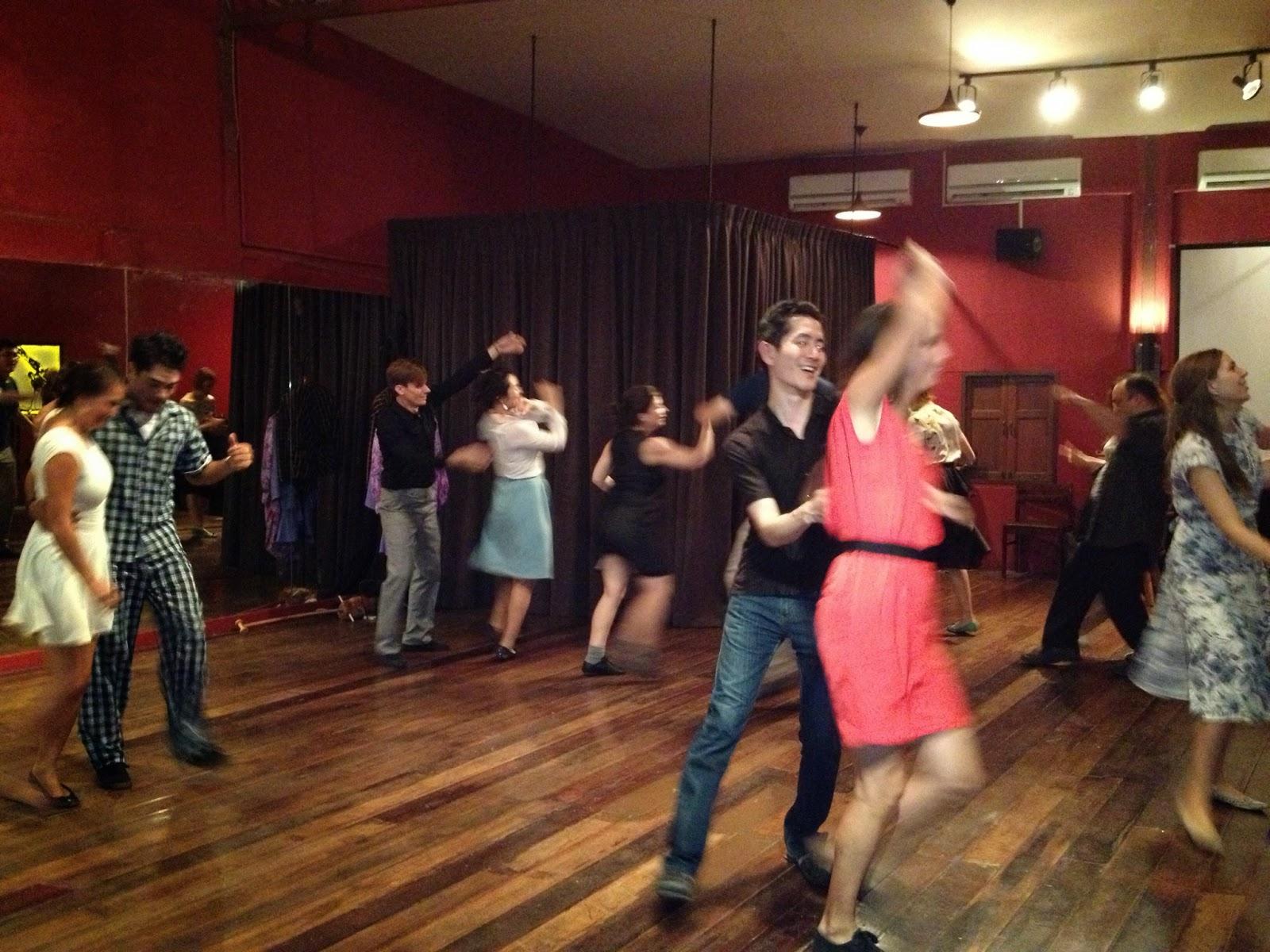 Bangkok - Lindy hopping at The Hop