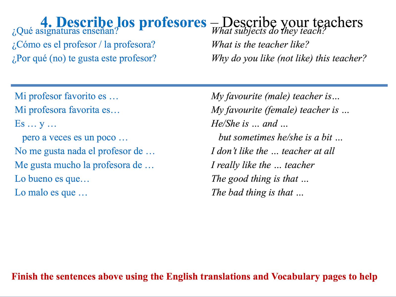 Essay sentence starters