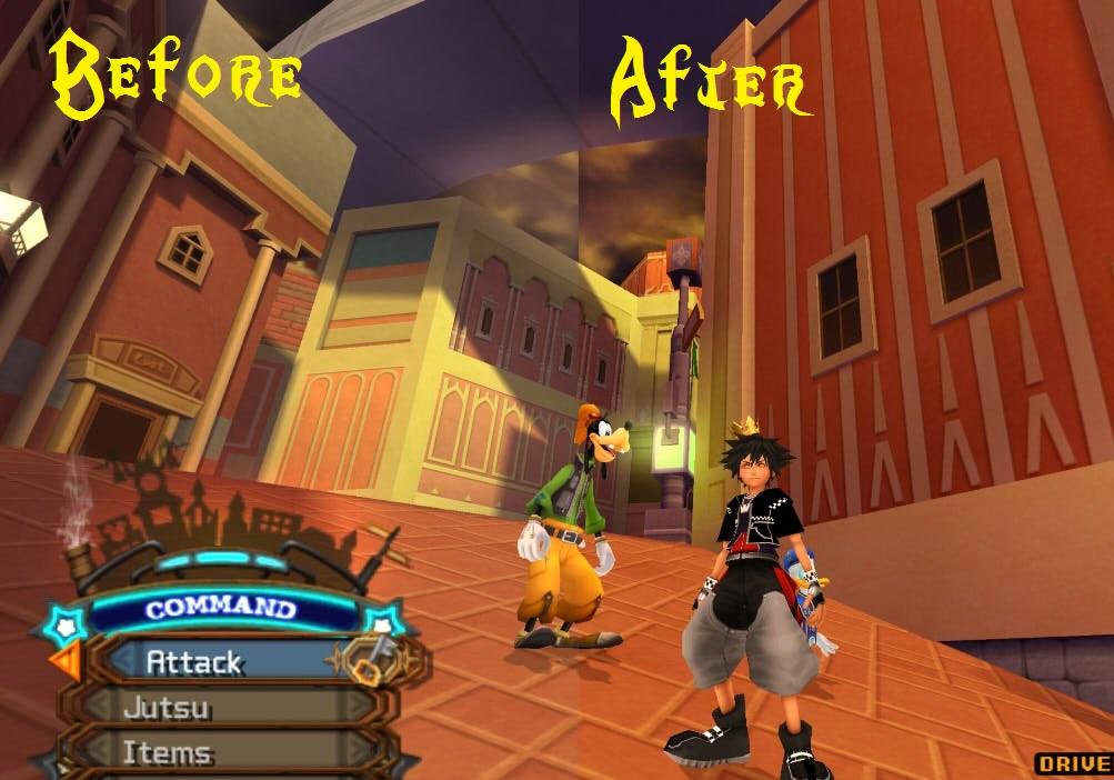 Pcsx2 Kingdom Hearts Black Screen