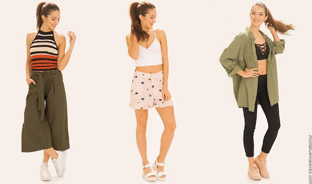 Moda primavera verano 2018 ropa de mujer. Moda verano 2018.