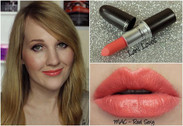 MAC Reel Sexy lipstick swatch