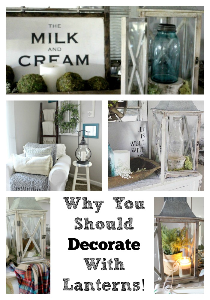 why you should decorate with lanterns 3 ways how the glam