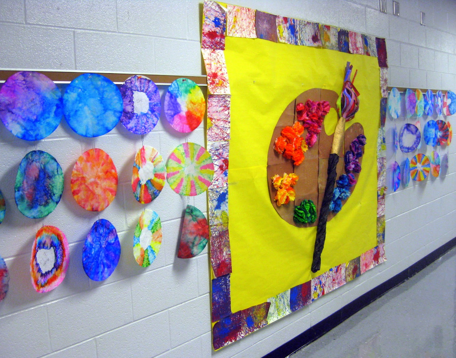 Collaborative Classroom Projects ~ Cassie stephens in the art room dot