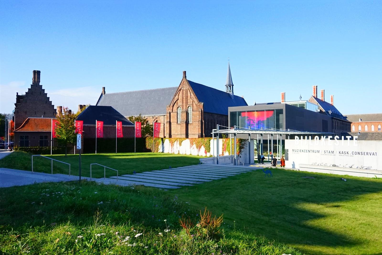 Le Chameau Bleu - Blog Voyage Gand Belgique - Gand Tourisme - Le Musée STAM à Gand Ghent Gent Belgique
