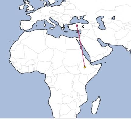 Etyopya ile ilgili Haritalar