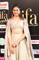 Cute Rakul Preet Singh in Deep Neck Cream Crop top Choli and Ghagra at IIFA Utsavam Awards March 2017  HD Exclusive Pics 11.JPG
