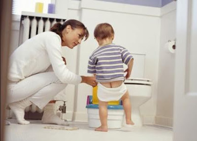 tips sukses toilet training