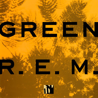 REM Green lp cover