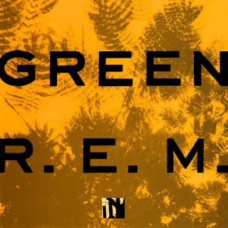 REM Green lp cover