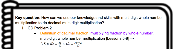 Unlocking School Mathematics: Notes for Eureka Math Grade 5