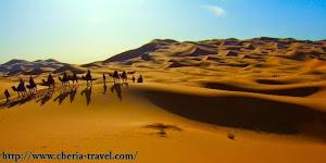 Gurun Sahara Kota Merzouga
