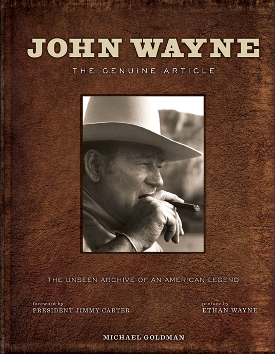 John Wayne: The Genuine Article - book cover
