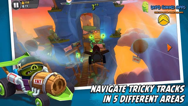 Download Angry Birds Go Apk + OBB Latest version