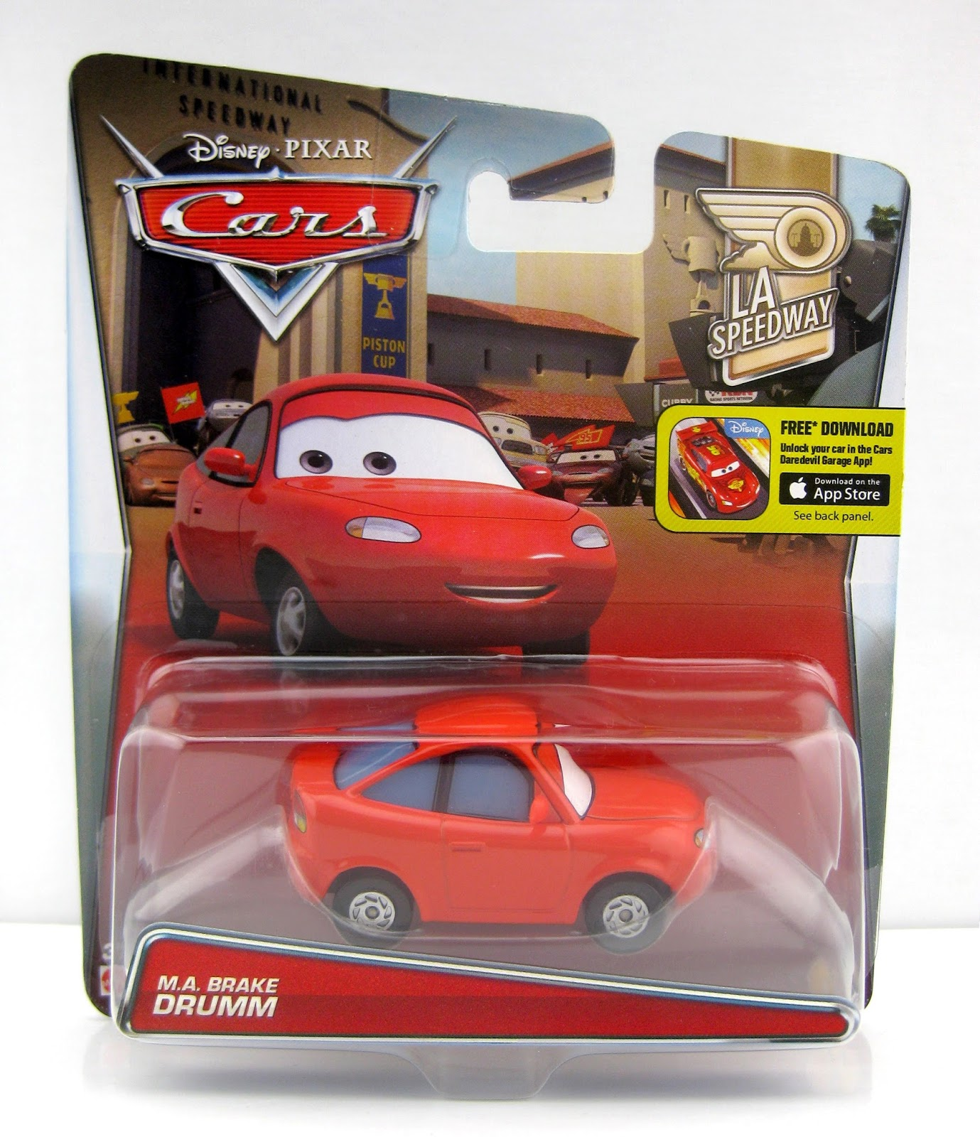 pixar cars m.a. brake drumm