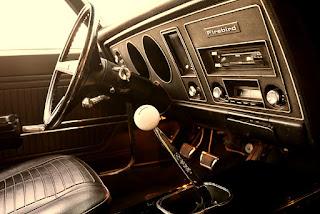 1969 Pontiac Firebird Sport Coupe Transmission
