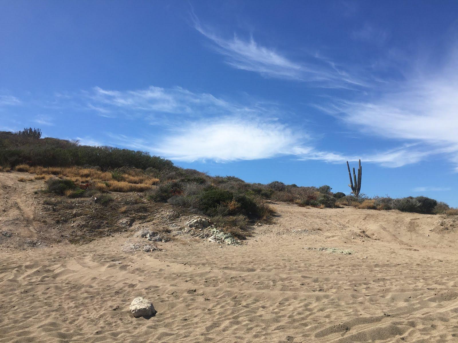 la playa piedras pintas au nord ouest du mexique